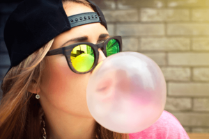chewing gum is a factor for TMJD